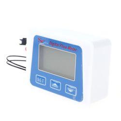 Cyfrowy wyświetlacz Lcd czujnik przepływu wody przepływomierz rotametr temperatura 35ED