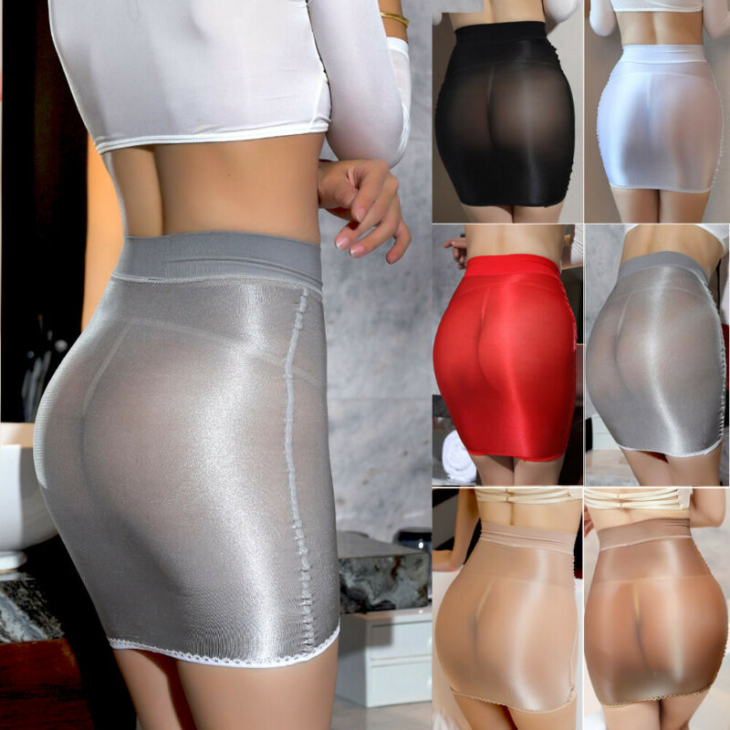 Summer Mesh Bikini Mini Skirt Cover Up Transparent Solid Color High Waist Cover Up Skirts Female Club Lingerie Dance Party Dress
