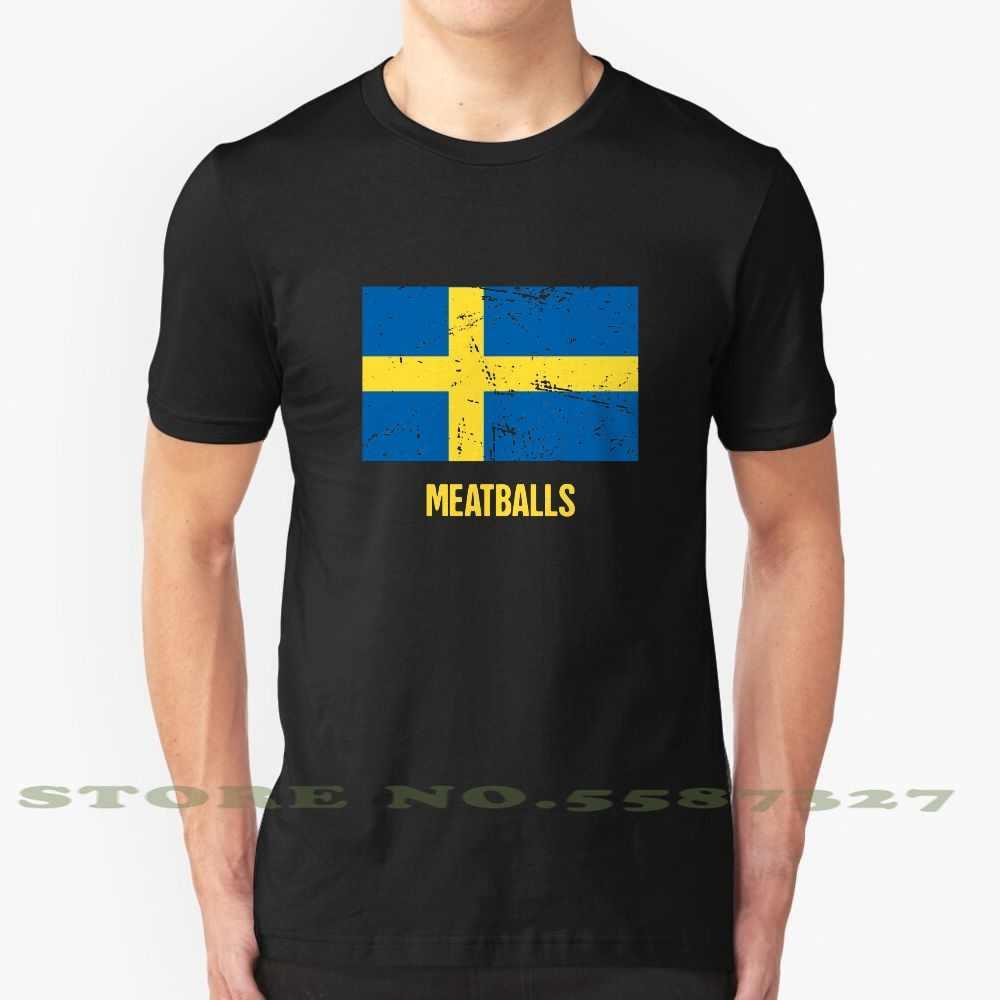 Funny Sweden Swedish Meatballs Fashion Vintage Tshirt T Shirts Swedish Meatball Swedish Sweden Funny Swedish Funny Sweden T Shirts Aliexpress