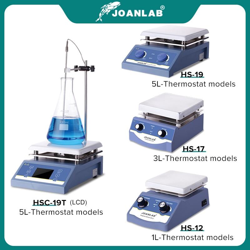 JOANLAB Heating Magnetic Stirrer Hot Plate Lab Stirrer Digital Display Magnetic Mixer Lab Equipment 1L 3L 5L 220v With Stir Bar 2
