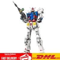 3500PCS K80 18K RX78 2 Super Mobile Suit Gundam Founder RX78 2 Fixed Bracket Building Blocks Brick Toys Christmas Gift