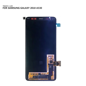 Image 2 - Para samsung galaxy a8 2018 a530 a530f a530ds a530n SM A530N lcd tela de toque digitador assembléia ferramentas gratuitas 100% testado