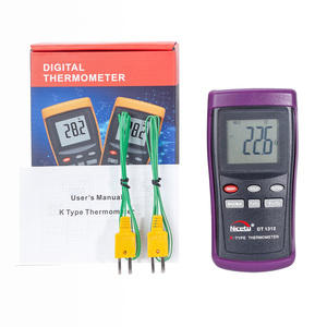 Image 5 - Nicety DT1311 Digital LCD Industrial Thermometer Thermocouple Sensor K Type Dual Channel Thermometer with probe Null