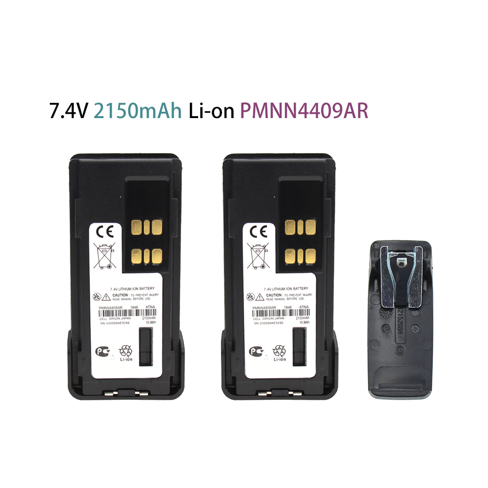 2X 2150mAh PMNN4409 Battery Replaces For Motorola TRBO APX4000 XPR3500 XPR7350eXPR7380e XPR7550e XPR7580e