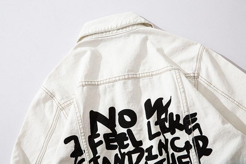 Mcikkny High Street Gradient Color Jeans Jackets Men Letter Graffiti Denim Jackets For Male Streetwear (5)