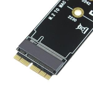 Image 5 - م مفتاح M.2 ل NGFF PCIe SSD بطاقة محول لابل ماك بوك اير 2013 ~ 2017 A1465 A1466 برو A1398 A1502 A1419 2230 2280 SSD