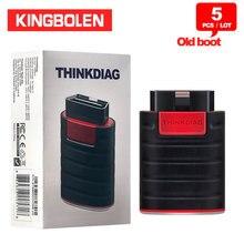 5 sztuk/partia Thinkcar Thinkdiag stary Boot wersja V1.23.004 czytnik kodów OBD2 Diagzone Bluetooth Android IOS skaner X431 PRO3 narzędzie