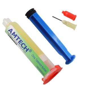 Image 2 - Wklej 100% oryginalny AMTECH NC 559 ASM BGA PCB bez czyszczenia pasta lutownicza spawanie zaawansowany strumień smaru olejowego 10cc pasta lutownicza naprawa
