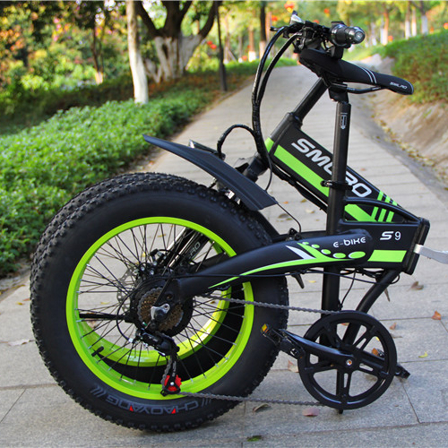 S9F China manufacturer 20 inch e bike 48v 1000w Bafang Motor fatbike 14AH Sam sung battery folding electric bike 1