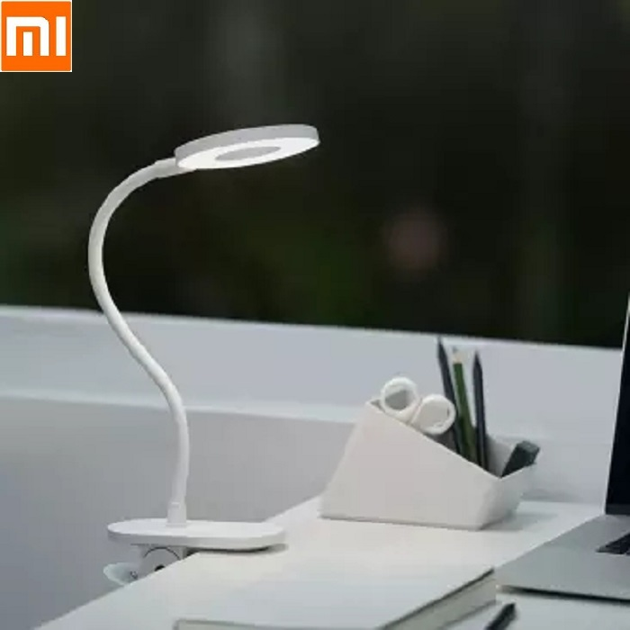 Xiaomi Yeelight LED 5W Desk Lamp Clip  Read Office Table Light Portable Fold Bedside Night Light  Third Gear Dimming