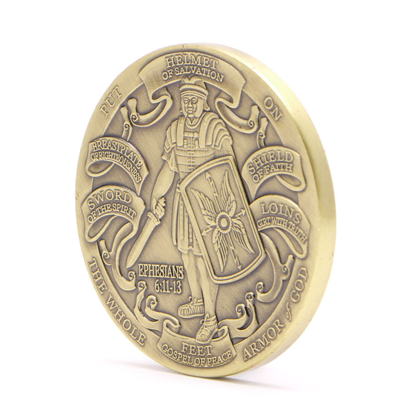 Put On The Full Armor Of God / Marine Corps Commemorative Coins Collectible Gift