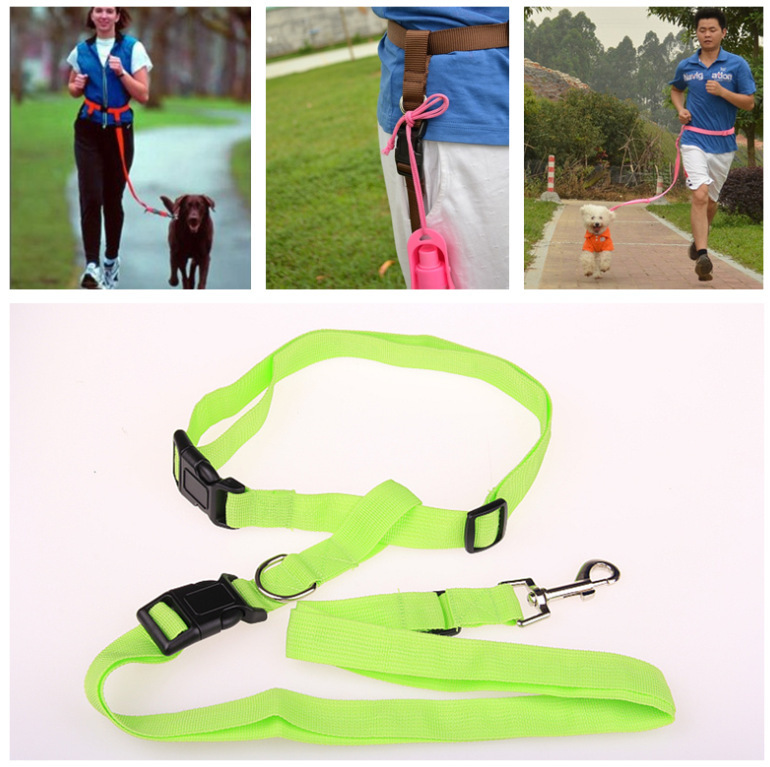 Pet Supplies For Traction Running Sling Traction Dog Morning Run For Hand Holding Rope