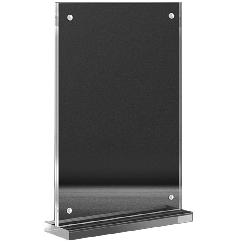 A4 210 X 297mm Acrylic Magnetic Sign Stand Display Stand Poster Paper Photo Paper Menu Advertising Display Stand
