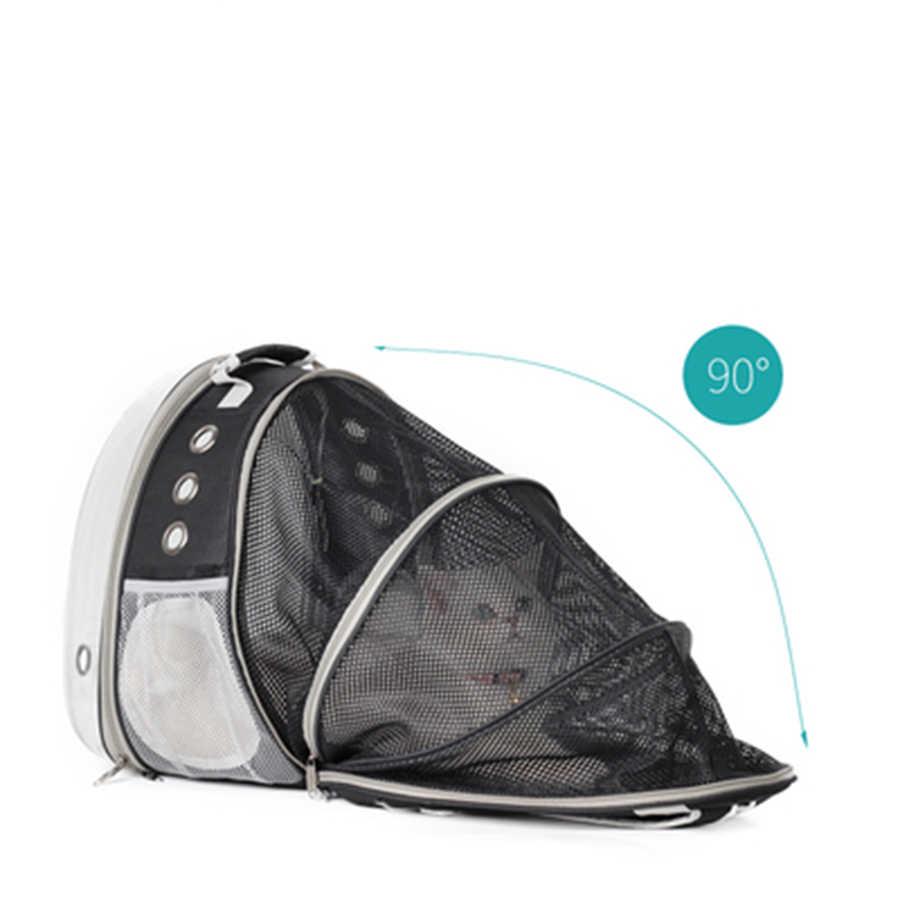 Bolsa de transporte de gato transparente, bolsa de transporte de gato, bolsa de Mochila para Perro, Mochila para gato, productos para mascotas 50WC13