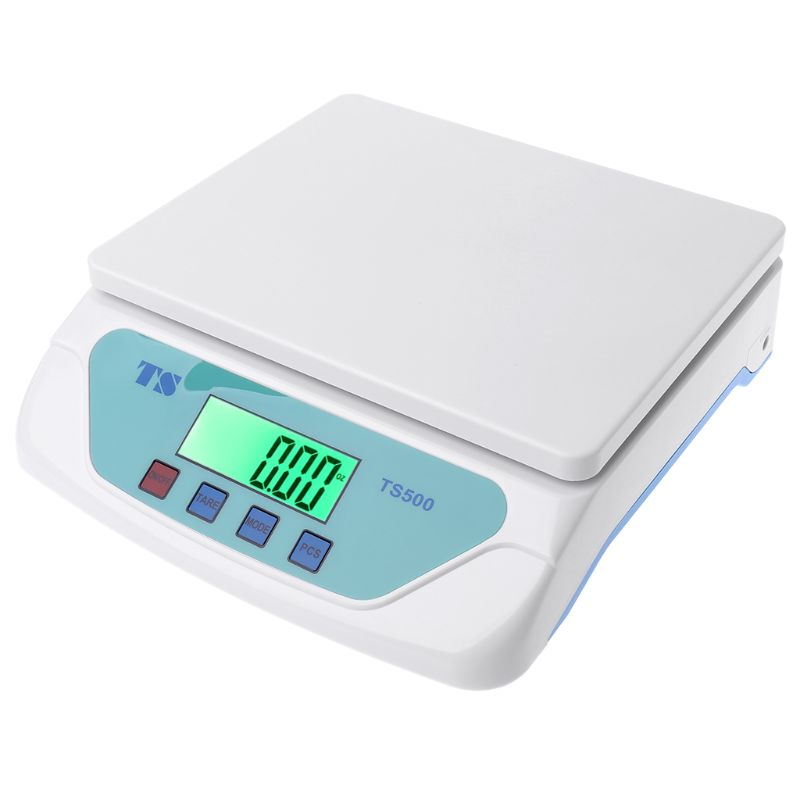 30kg Electronic Scales Weighing Kitchen Scale LCD Gram Balance for Home Office Warehouse Laboratory Industry A69D