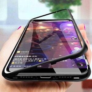 Магнитный защитный чехол для Huawei Nova 5T 5i 5 3i 3 2S Honor 20S 20 V10 V20 9X Y7 Pro Play Mate 10 30 20 P10 Lite Pro