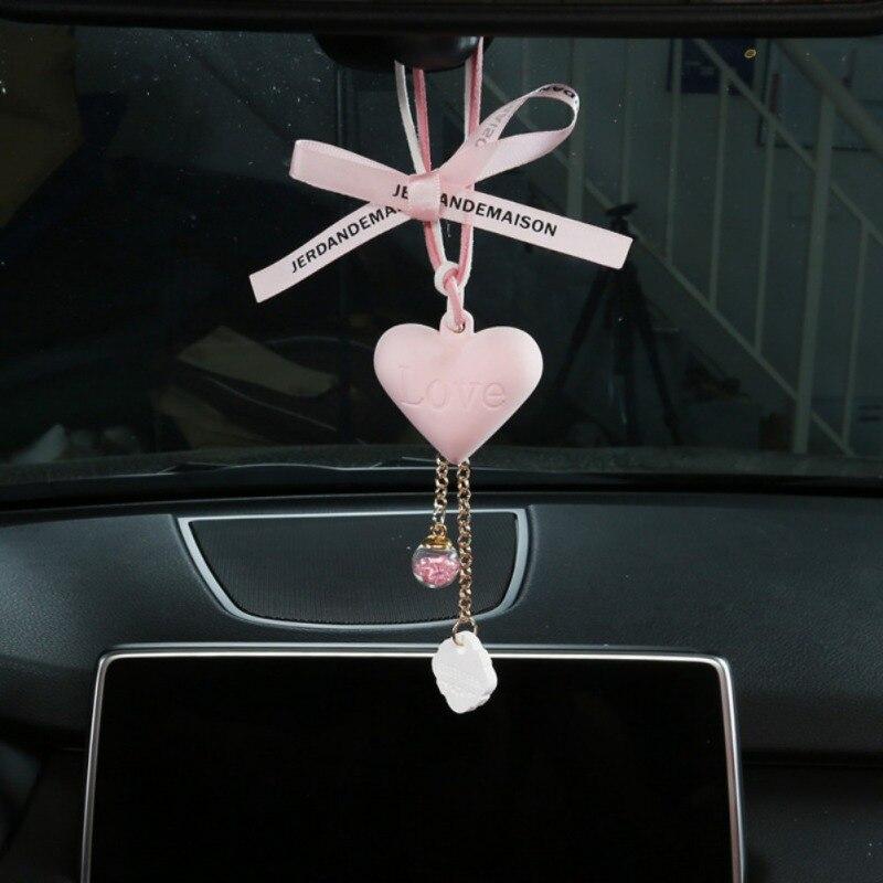 Car Pendant Auto Interior Decoration Perfume Air Freshener Car Suspension Fragrance Accessories New