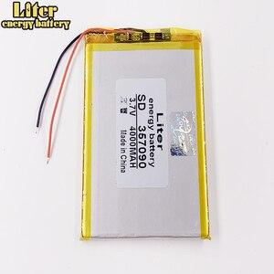 Image 4 - 357090 TX52 TZ41 TZ42 TZ43 TZ46 TZ45 TZ53 TZ70 TZ72 TZ736 TX01 TZ02 TZ01 태블릿 배터리 내부 4000mah 3.7V 폴리머 리튬 이온