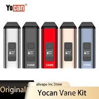 Yocan-Kit de vaporizador de hierbas secas, vaporizador de cerámica con cámara de calefacción, cigarrillo electrónico de 1100mAh, caja de pantalla OLED, Original