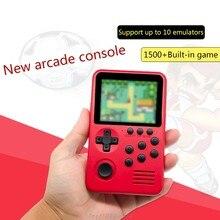 M3S Mini Handheld Spielkonsole Spieler Builtin 1500 + Spiele 16 Bit Retro Smart Video Gaming 4G TF Karte m30 21 Dropshipping