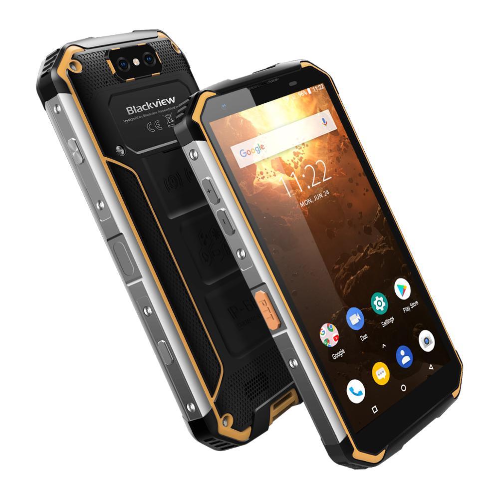 IP68 étanche Blackview BV9500 Plus Helio P70 Octa Core Smartphone 10000mAh 5.7 pouces FHD 4GB 64GB Android téléphone Mobile double SIM - 2