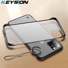 KEYSION Frameless Case for IPhone 11 Pro Max Case Hard Transparent Matte Back Cover for IPhone 11 Pro Max XS Max XR X 8 7 6 Plus new iphone case for iphone 11 for iphone11 pro max 5 8 inches 6 1 inches 6 8 inches 6 6s 7 8 plus ix xr max x fashion back cover