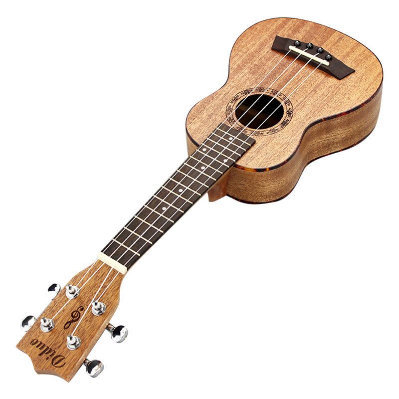 21 pouces ukulélé Hawaii 4 cordes guitare acajou palissandre adapté aux débutants Instruments à cordes à domicile