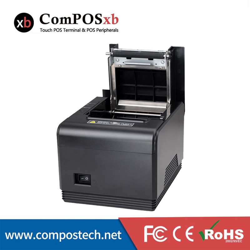 High Sales 80mm Thermal Printer For Wholesalers Black POS Printer With USB Interface Thermal Printer For POS System