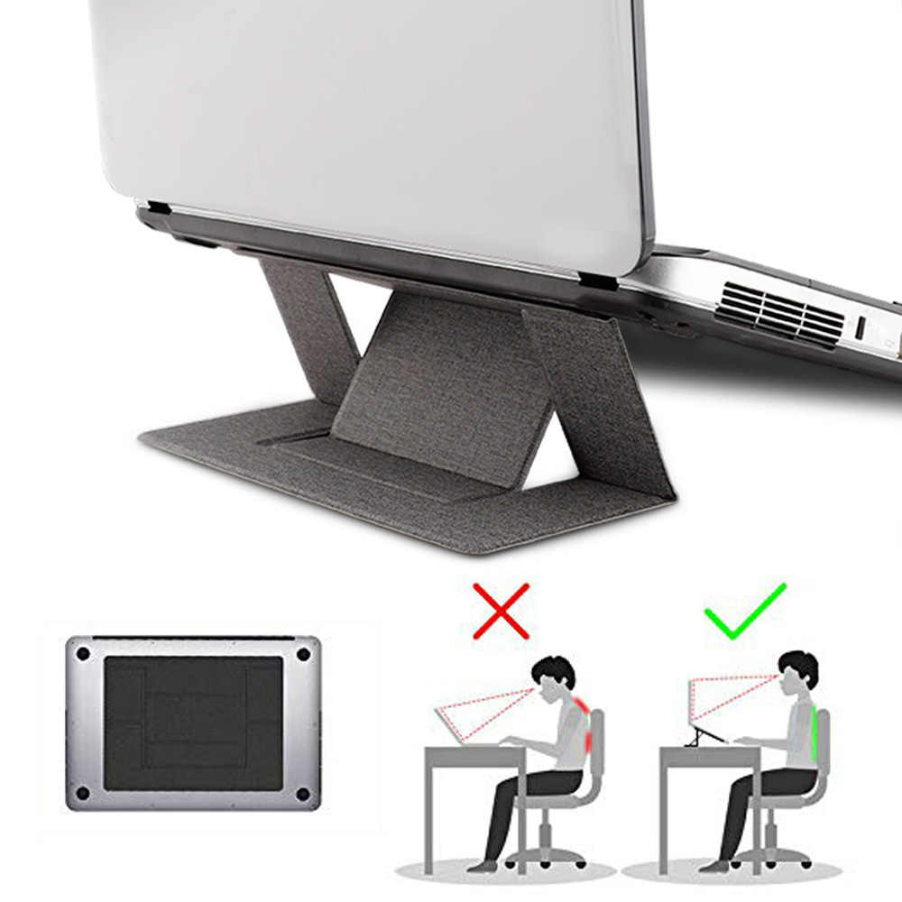 Portátil ajustable portátil conveniente Laptop Pad plegable soporte función Tablet soporte para iPad MacBook portátil