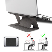 Portable Adjustable Laptop Stand convenient Laptop Pad Foldi