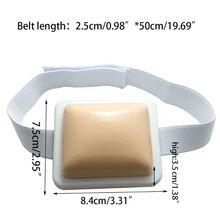 Подушечка Для Инъекций-пластиковая внутримышечная инъекционная тренировочная подушка для медсестры, студентов-медиков, тренировочный инструмент 95AD