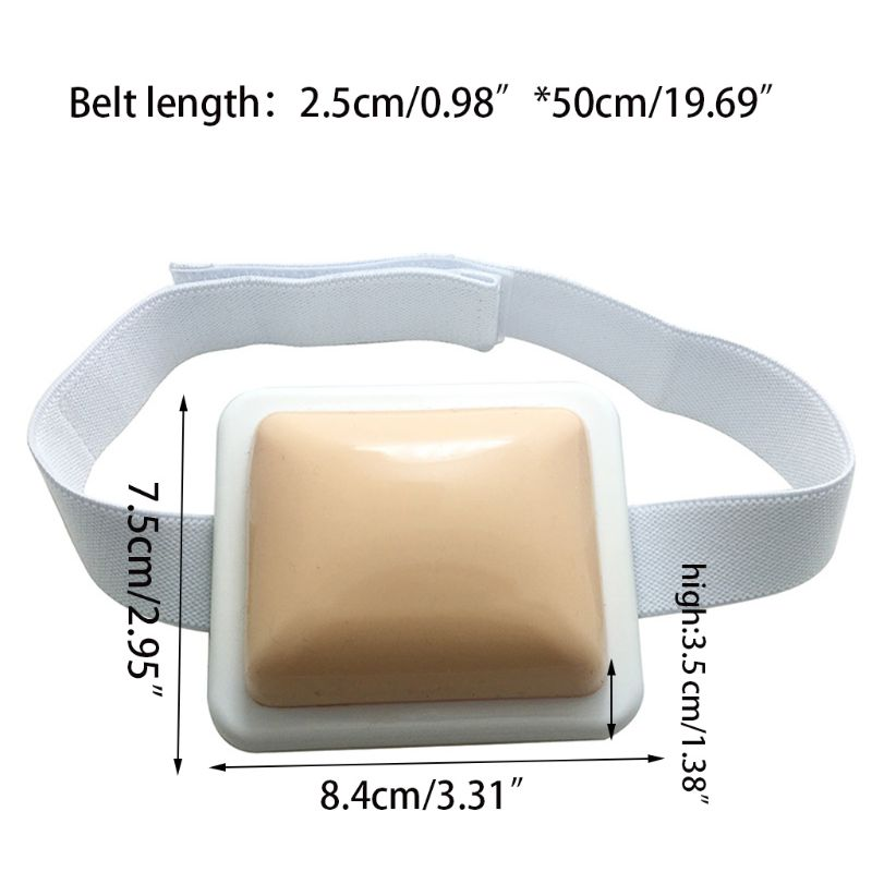 Injection Pad-Plastic Intramuscular Injection Training Pad For Nurse Medical Students Training Practice Tool 95AD