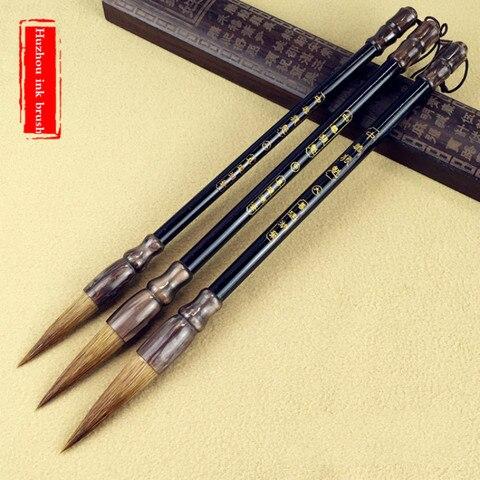 tinta china roteiro oficial pintura escrita escova