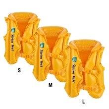 3 цвета, летняя детская надувная Спасательная куртка для плавания, спасательные куртки для плавучести, спасательный жилет для катания на лодках, спасательный жилет