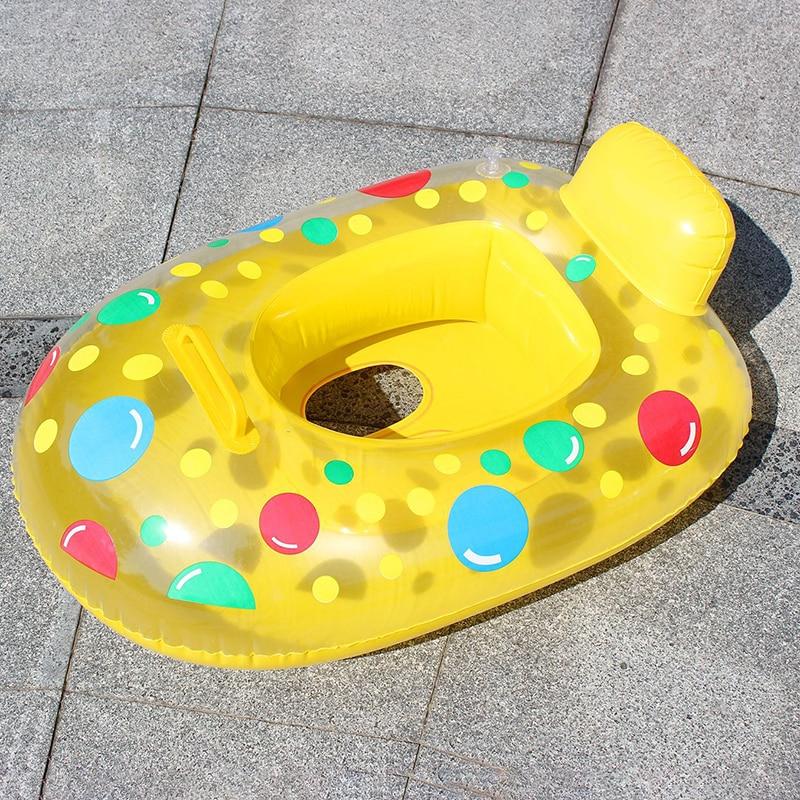 Circle Bath Inflatable Ring Toy Cartoon Swim Ring Baby Swimming Ring Inflatable Infant Floating Kids Float Swim Pool Accessories
