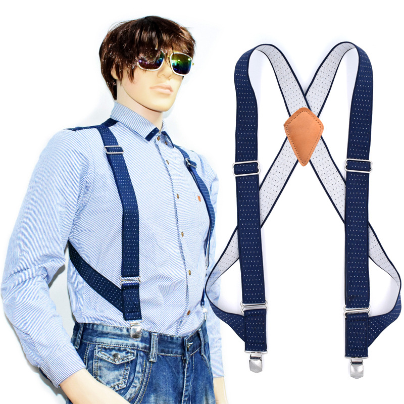 Cross Border Supply Of Goods For Both Men And Women 2 Clip Suspender Strap Work Casual Adult Suspenders A Generation Of Fat Curr