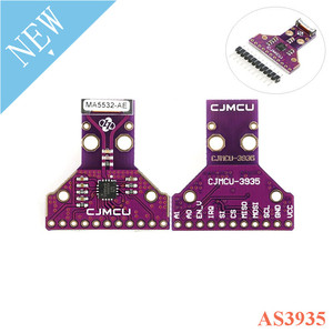 Image 1 - GY AS3935 AS3935 dijital ışık ning sensörü modül lamba yıldırım algılama fırtına mesafe sensörü 2.4V için 5.5V kesme panosu modülü