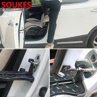 Car Roof Door Foot Plate Folding Pegs Pedal Fender For Audi A3 A4 B8 B6 A6 C6 A5 B7 Q5 C5 8P Q7 TT C7 8V A1 Q3 S3 A7 B9 8L A8 80