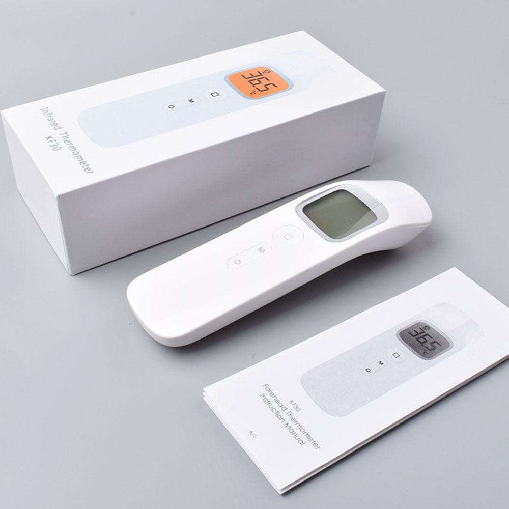 Infrared Thermometers Non-contact Forehead Thermometer LCD Digital Display Smart Temperature Gun For Baby Kids Adult
