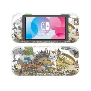 Image 1 - סטודיו Ghibli אנימה NintendoSwitch עור מדבקת מדבקות כיסוי עבור Nintendo מתג לייט מגן Nintend מתג Lite עור מדבקה