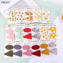 Proly 2/шт/комплект Новые детские заколки для волос модные девочек