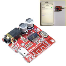 Micro USB Mini MP3 Bluetooth 4.1 Car Speaker Amplifier Board Module Lossless Decoder Stereo Output Circuit Board Module 3.7V 5V(China)