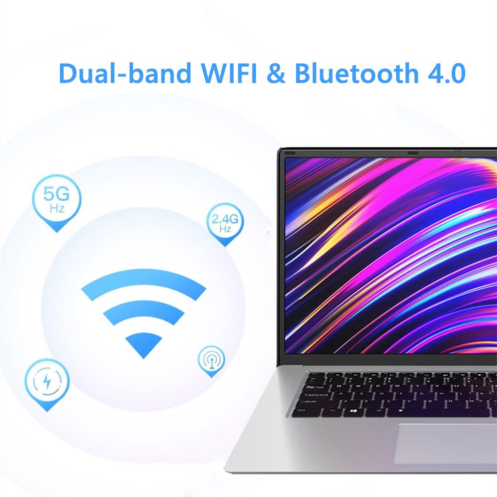 Laptop 15.6 inch 8GB RAM 128GB/256GB/512GB 1TB SSD intel J3455 Quad Core Windows 10 Notebook Computer FHD Display Ultrabook-3