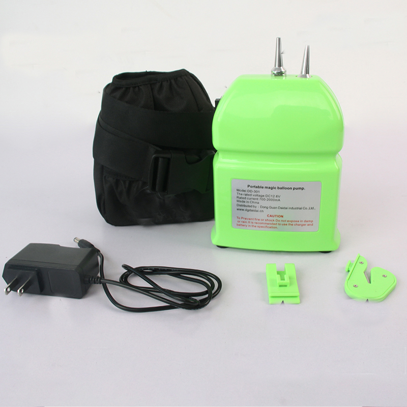 New portable electric balloon pump, chargeable twisting Modeling Balloon Pump inflator pump-in Blowers from Tools    1