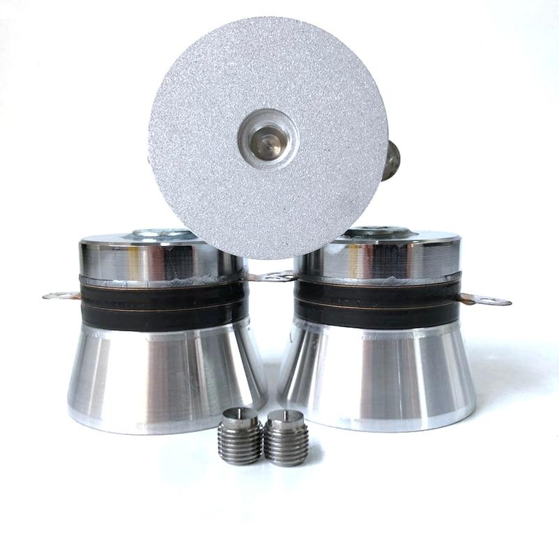 Одночастотный 40K 100W P4 пьезо керамический ультразвуковой датчик чистки/датчик Детали для ультразвукового очистителя      АлиЭкспресс