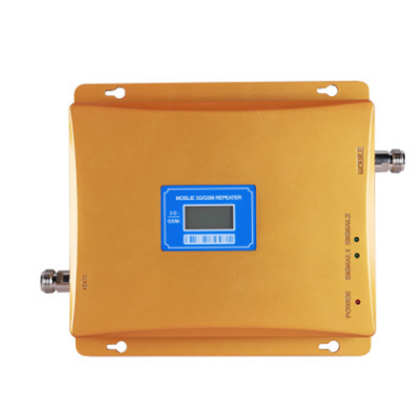 GSM 2G 3G Signal Repeater LCD Display Cellular Signal Booster DUAL BAND Mobile GSM 3G SIGNAL Amplifier