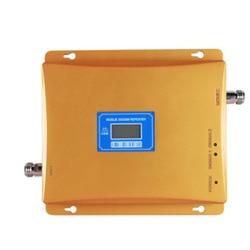 GSM 2G 3G regenerator sygnału wyświetlacz LCD wzmacniacz sygnału komórkowego dwuzakresowy mobilny wzmacniacz sygnału GSM 3G