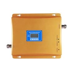 Gsm 2g 3g repetidor de sinal lcd display celular impulsionador de sinal banda dupla móvel gsm 3g amplificador de sinal