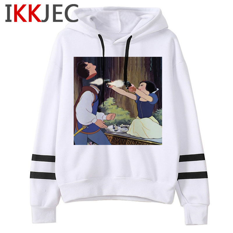 Aesthetic Harajuku Funny Cartoon Hoodies Women/men Grunge Princesses Vintage Sweatshirt 90s Graphic Fashion Hoody Female/male 29