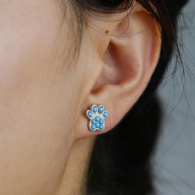 Dog Paw Earring 5